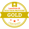 Laserfiche Gold Level Solution Provider